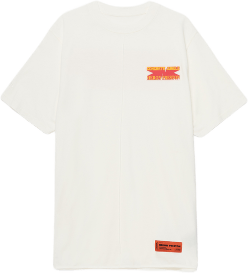 Concrete Jungle Over T-shirt White
