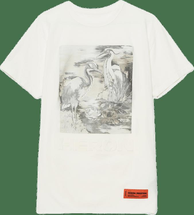 Heron S/s T-shirt White