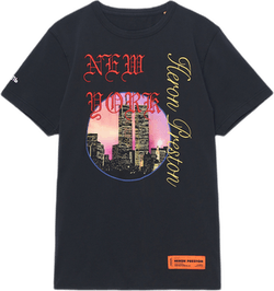 Nyc Skyline S/s T-shirt Black