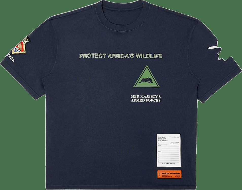 Ss T-shirt Reg Rhino Ap Blue