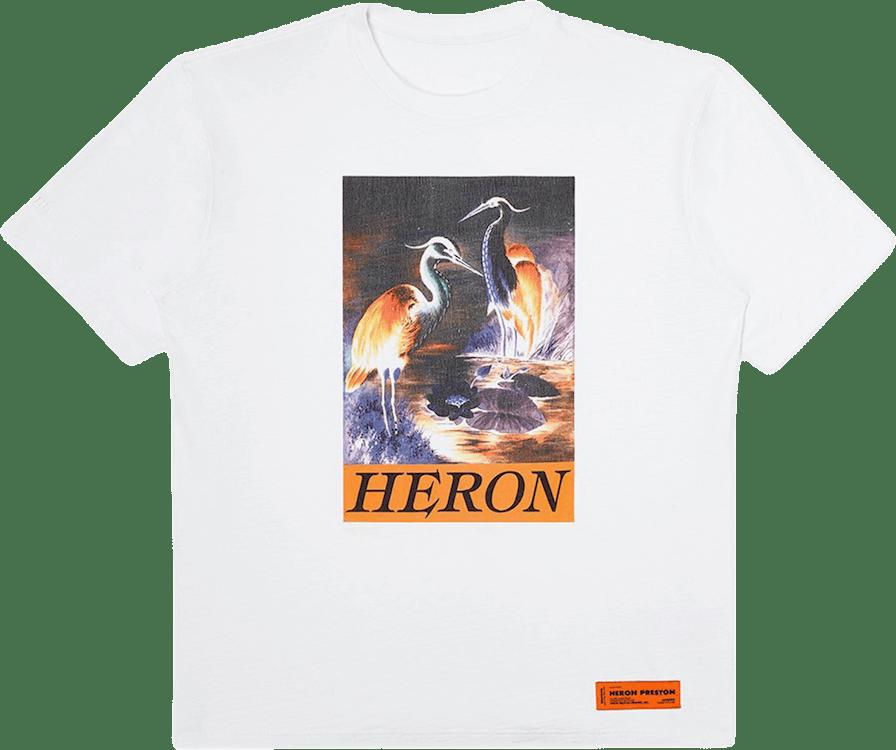 Ss T-shirt Os Heron Times White