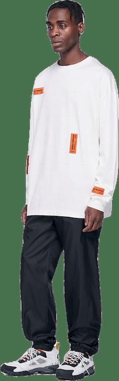 Regular Crazy Label T-shirt Lo White