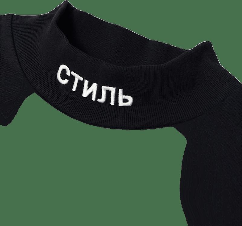 Ls Turtleneck Ctnmb Black