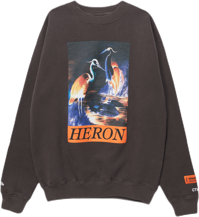 Crewneck Os Heron Times Gray