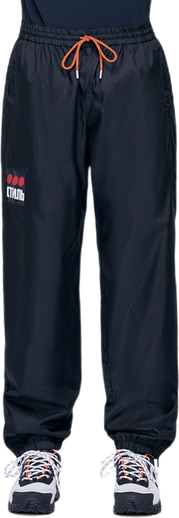 Nylon Trackpants Dots Ctnmb Black
