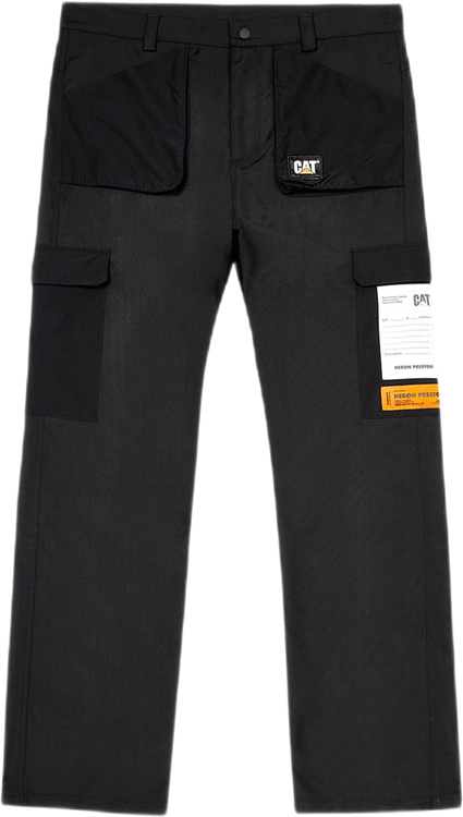 Cat Pocket Pants Black