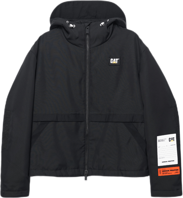 Cat Windbreaker Black