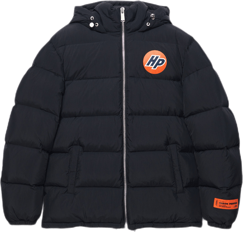 Hp Nylon Puffer Black