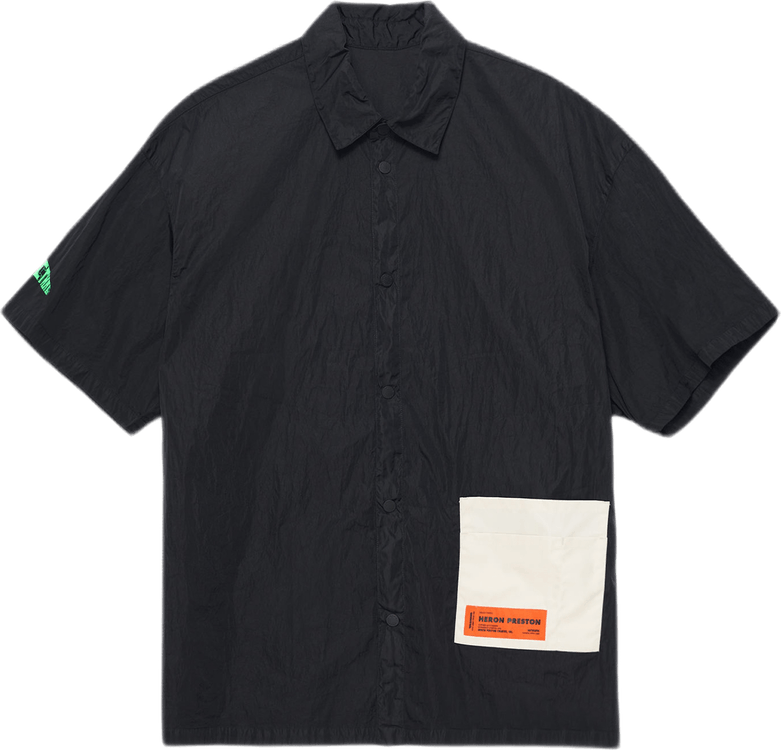 Pocket Shirt S/s Black