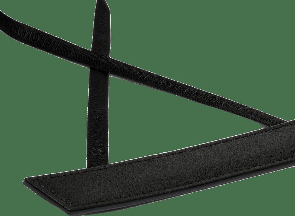 Cross Body Flat Bag Black