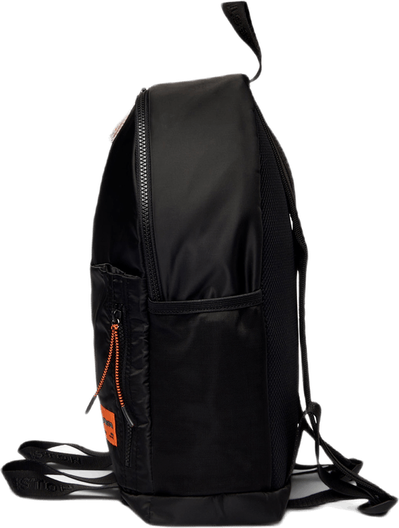 Round Zip Backpack Black