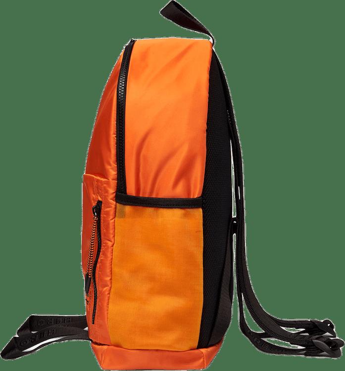 Round Zip Backpack Orange