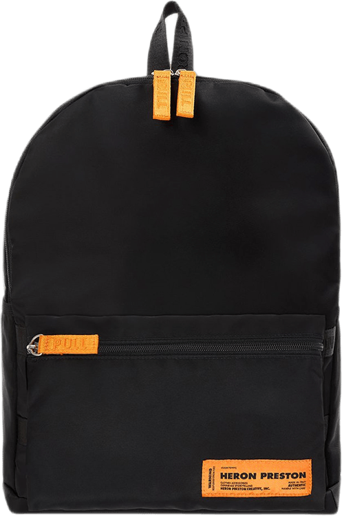 Nylon Fanny Backpack Black