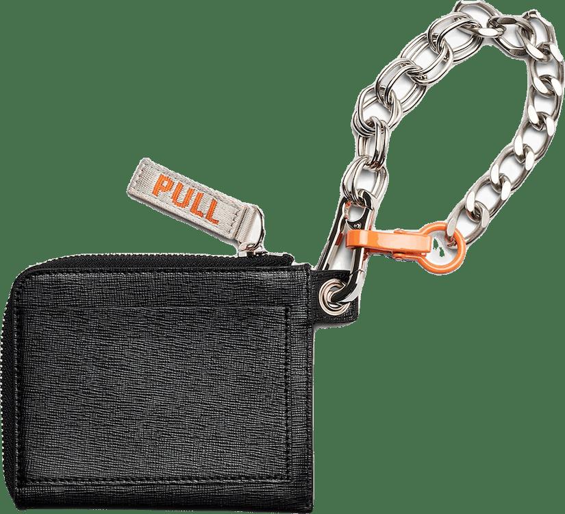Chain Wallet Black