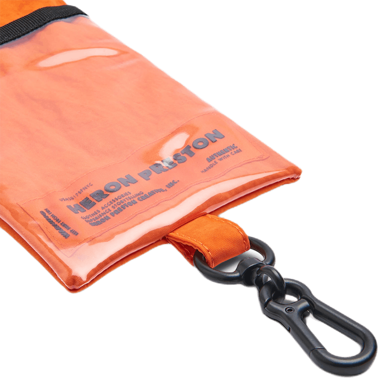 Passport Keychain Holder Orange