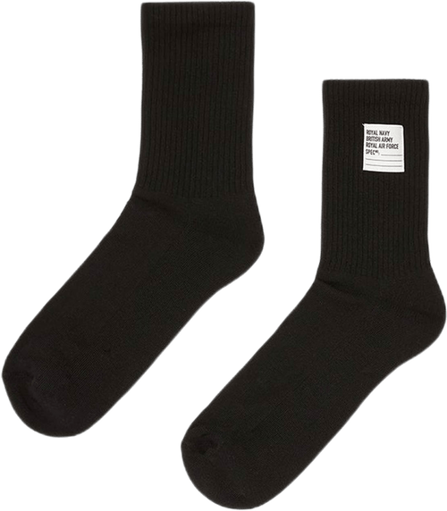 Short Socks Ap Black