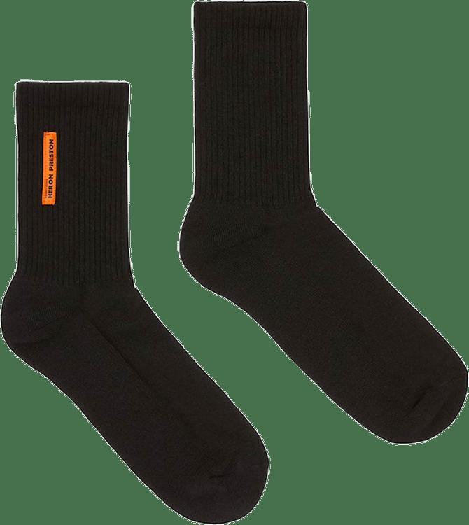 Short Socks Ap Black