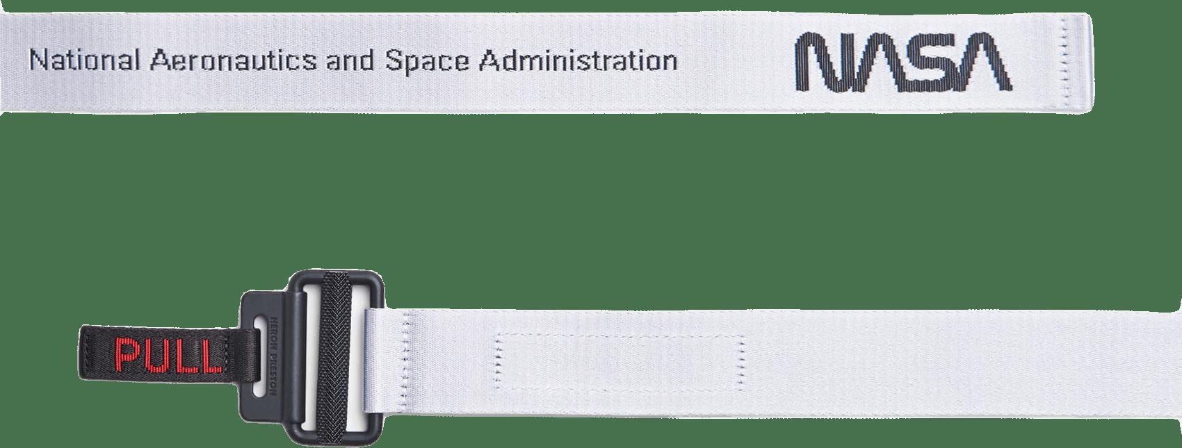 Nasa Tape Belt White