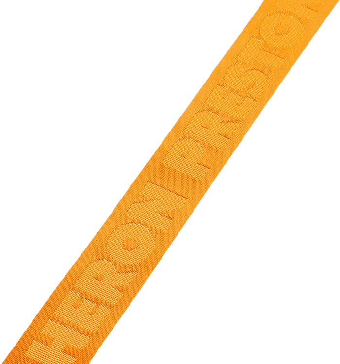 Tape Belt 4cm Classic Buckle Orange