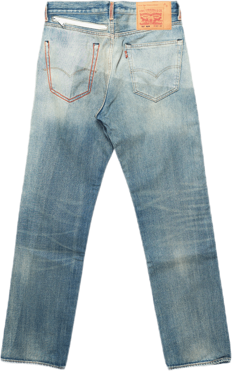 X Levis 501 Vintage Wash Multi
