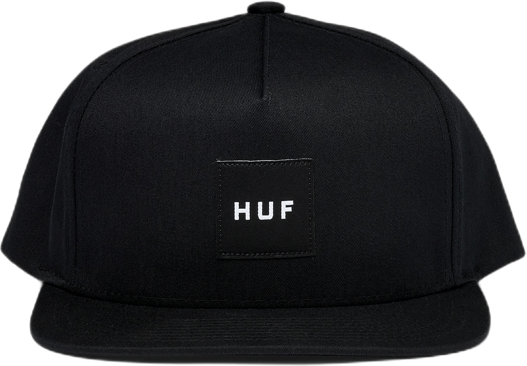 Essentials Box Hat Black
