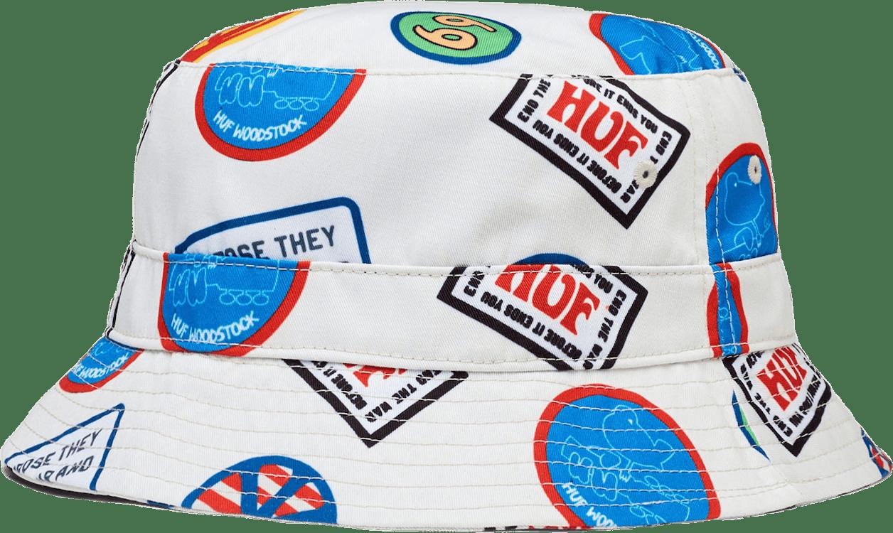 X Woodstock Bucket Hat Khaki