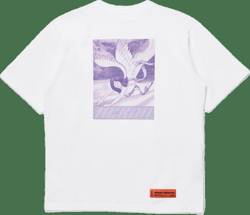 Sweatshirt White Lilac White