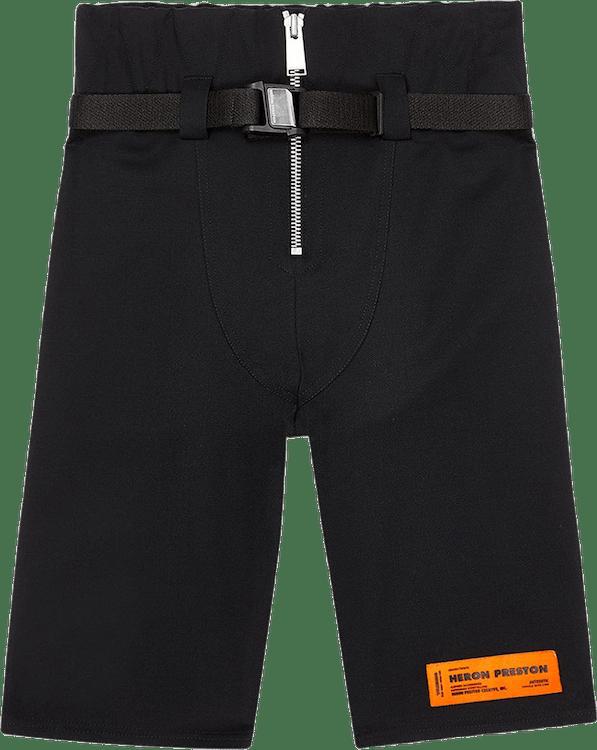 Tailoring Wool Shorts Black