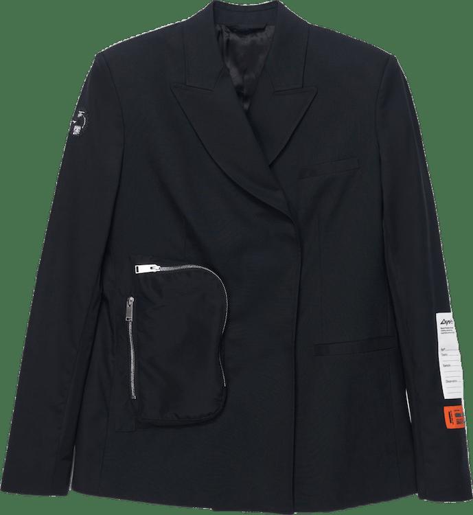 Tailoring Wool Blazer Black