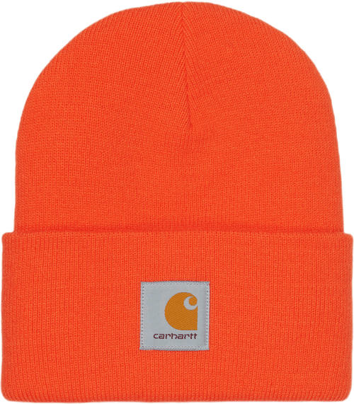 Acrylic Watch Hat Orange