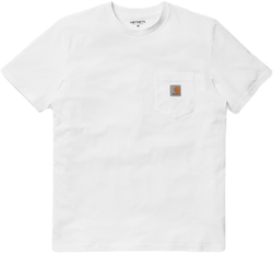 S/s Pocket T-shirt White