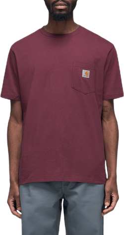 S/s Pocket T-shirt Red