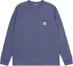 L/s Pocket T-shirt Purple