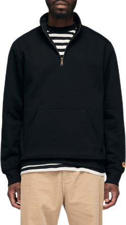Chase Neck Zip Sweatshirt Black