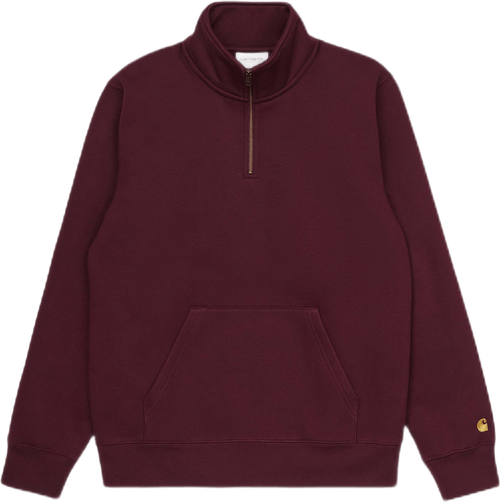 Chase Neck Zip Sweatshirt Red