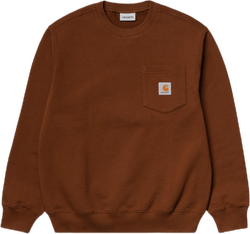Pocket Sweatshirt Brown