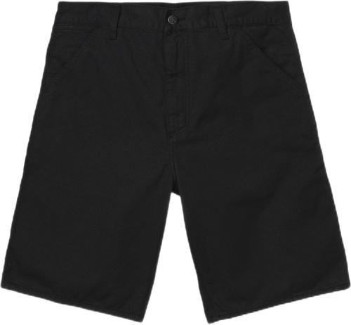 Single Knee Shorts Black