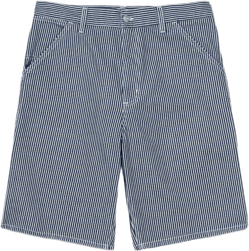 Single Knee Short Blue