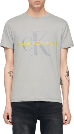 Vegetable Dye Monogram Slim Te Gold