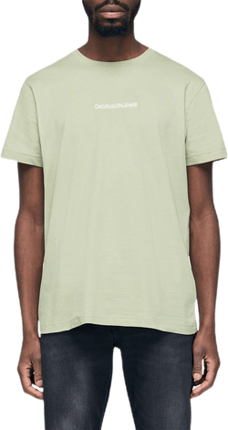 Instit Chest Logo Tee Green