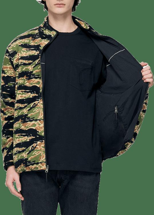 Milton Rev Polar Fleece Jacket Multi