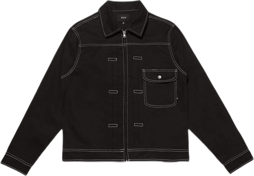 Lincoln Trucker Jacket Black