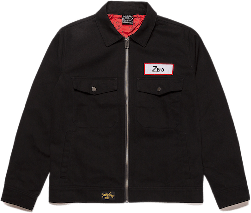 Zero Twill Mechanic Jacket Black