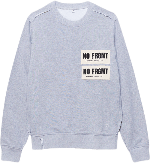 Jump Sweatshirt No Frgmt Patch Gray