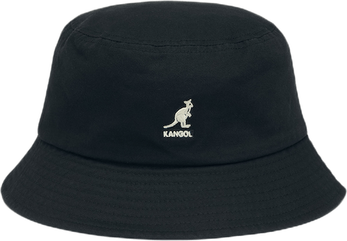 Washed Bucket Hat Black