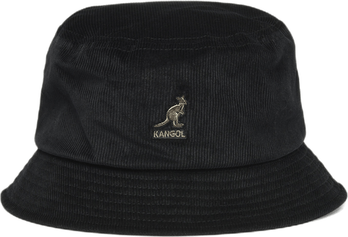 Cord Bucket Hat Black
