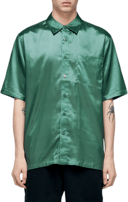 Boxy Shirt Green