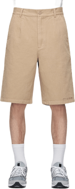 Wide Shorts Khaki