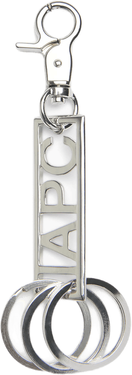 Noa Keychain Silver
