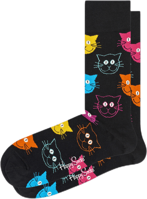 Cat Socks Multi